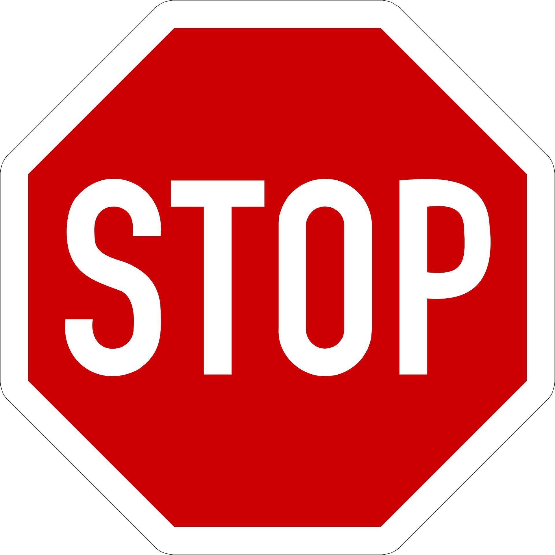 Stopp-Technik, Symbolbild